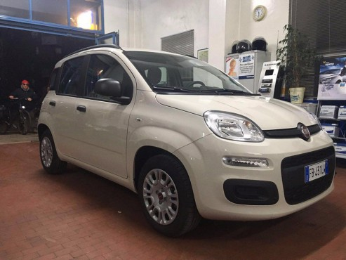 Fiat Panda 2015 for rent